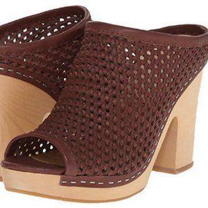 Dolce Vita BROOKS Clog Woven Leather Platform Mule